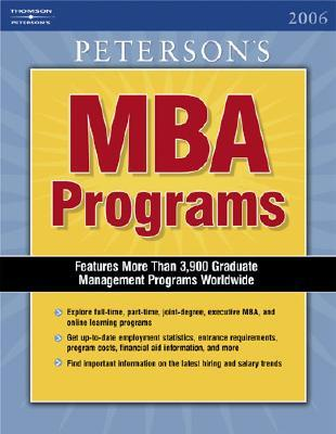 Peterson's MBA Programs 2006