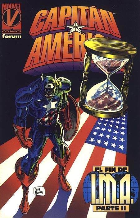 Capitán América: El fin de I.M.A. #2 (de 2)
