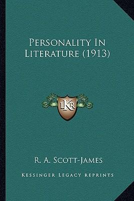 Personality in Literature (1913) Personality in Literature (1913)