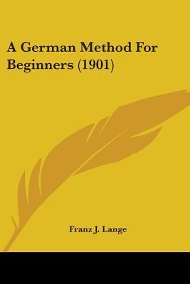 A German Method for Beginners (1901)