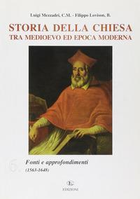 Storia della Chiesa tra Medioevo ed epoca moderna