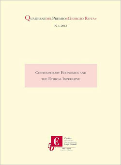 Contemporary Economics and the Ethical Imperative
