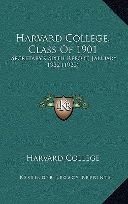 Harvard College, Class of 1901