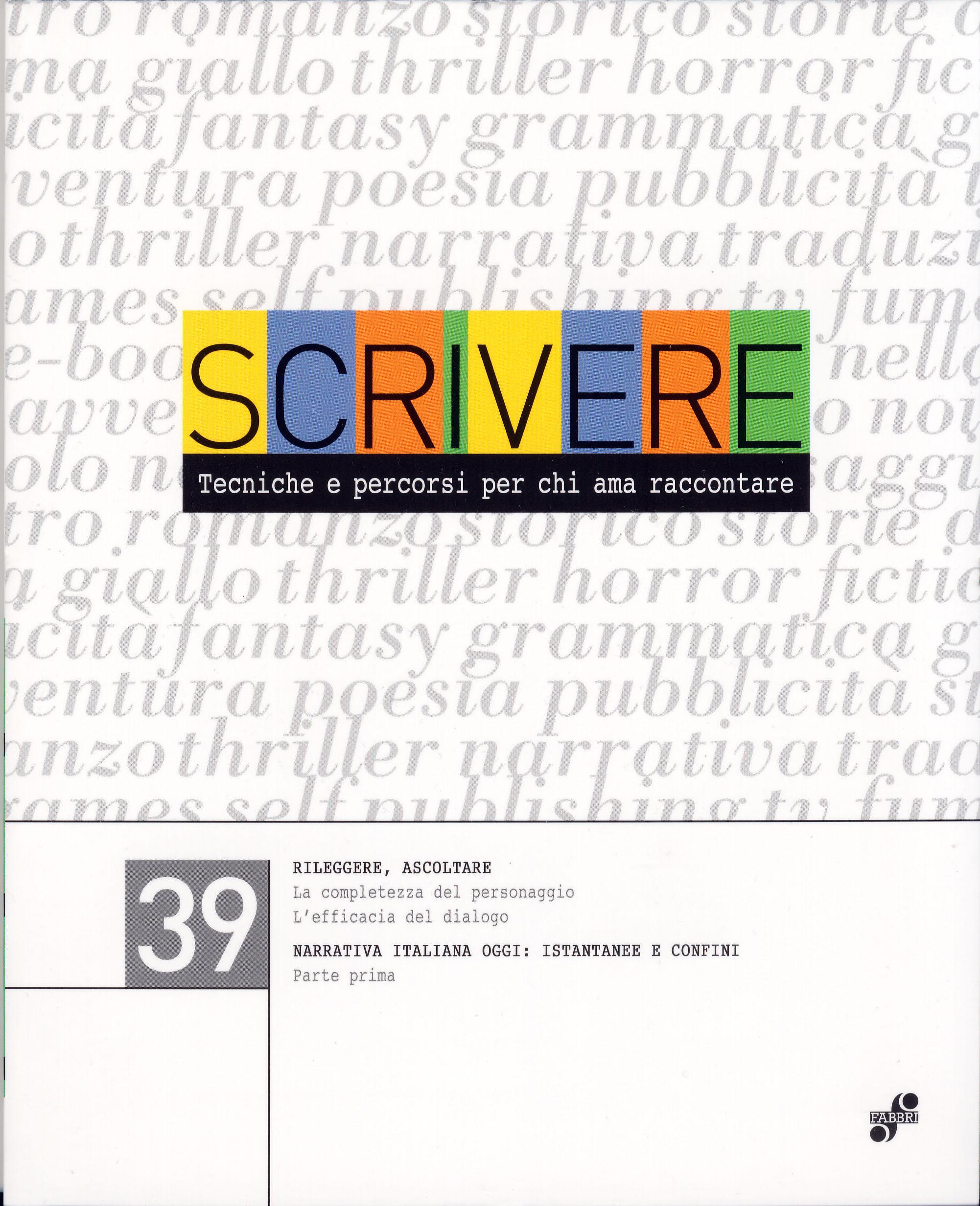 Scrivere - vol. 39