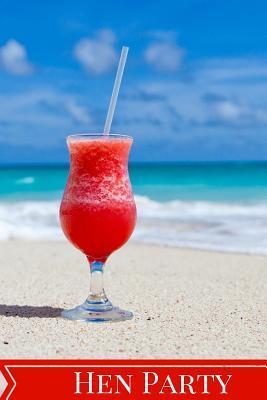 Hen Party Beach Cocktail Keepsake Guest Book