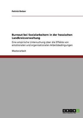 Burnout bei Sozialarbeitern in der hessischen Landkreisverwaltung