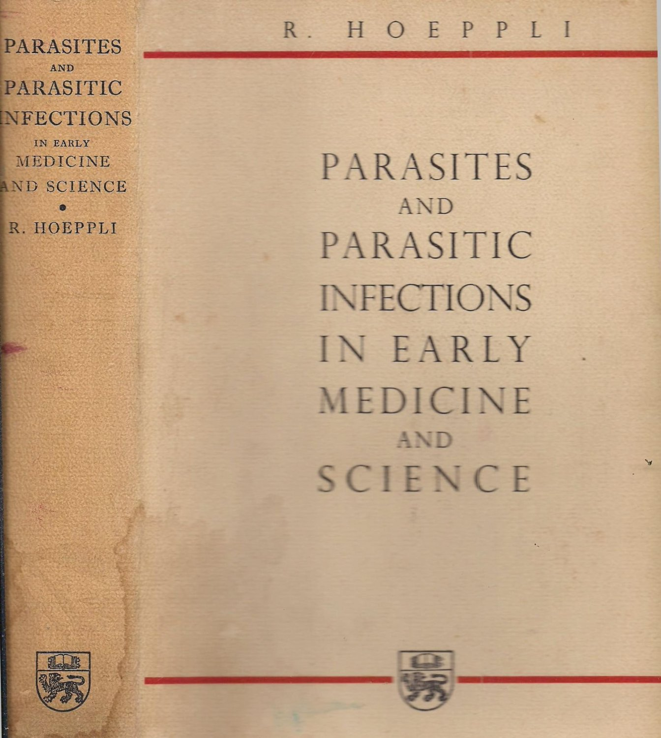 Parasites and Parasitic Infections in Early Medicine and Science