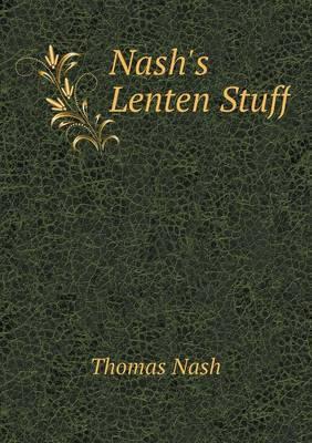 Nash's Lenten Stuff