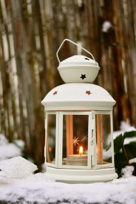 White Lantern in the...