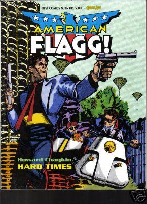 American Flagg ! Hard Times