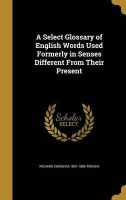 SELECT GLOSSARY OF ENGLISH WOR