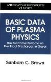 Basic data of plasma physics