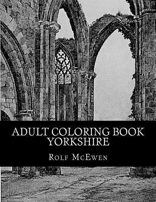 Adult Coloring Book Yorkshire
