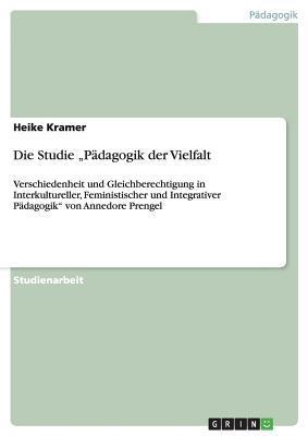 """Die Studie """"Pädagogik der Vielfalt"""