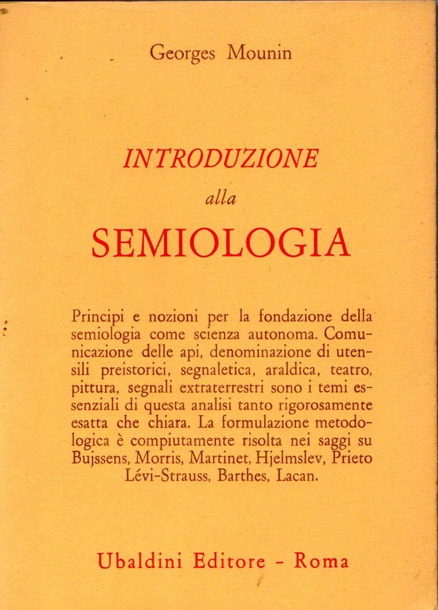 Introduzione alla semiologia