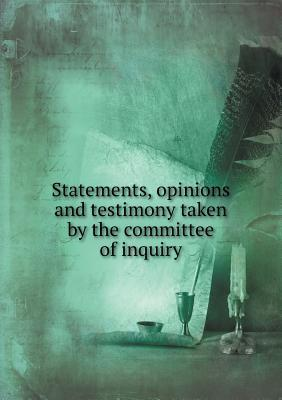 Statements, Opinions...
