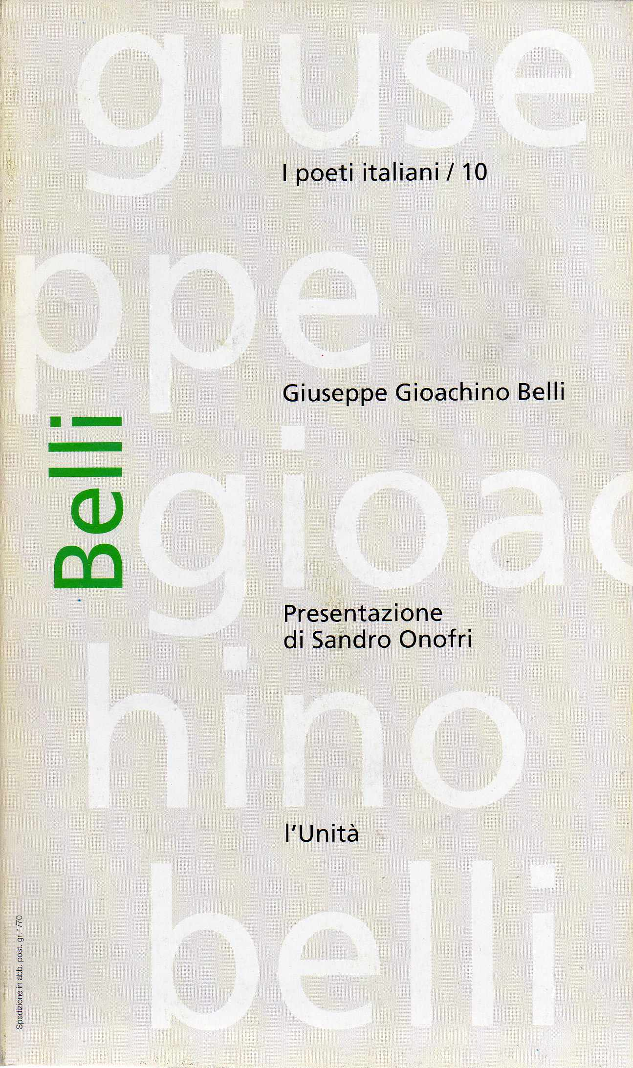Giuseppe Gioachino B...