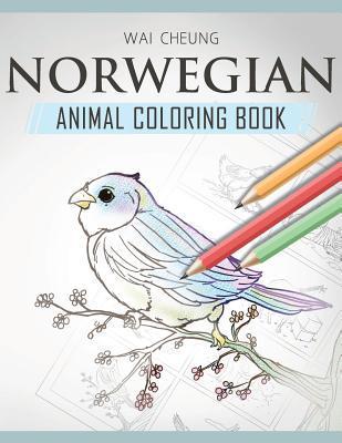 Norwegian Animal Coloring Book