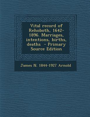 Vital Record of Reho...