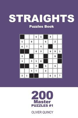 Straights Puzzles Book - 200 Master Puzzles 9x9 (Volume 1)