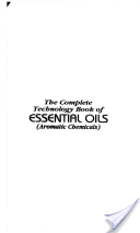 The Complete Technology Book Of Essential Oils (Aromatic Chemicals)