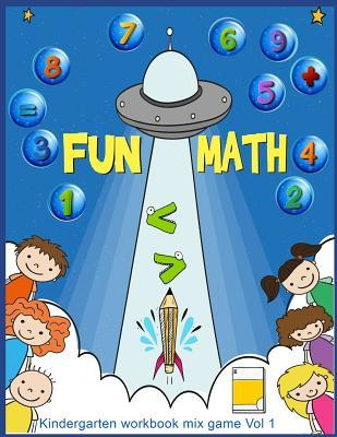 Fun Math Kindergarten Workbook Mix Game