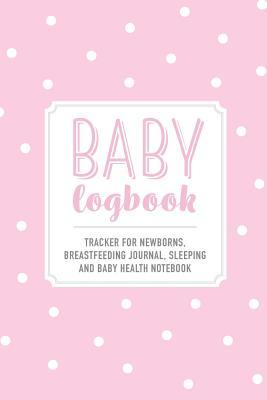 Baby Logbook - Light Pink Polka Dot Tracker for Newborns