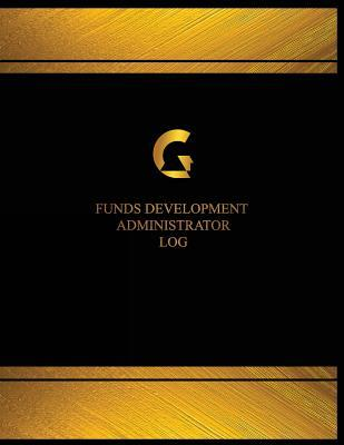 Funds Development Administrator Black Cover, X-large Logbook