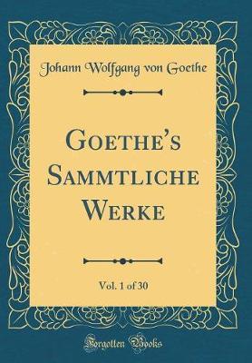 Goethe's Sämmtliche...