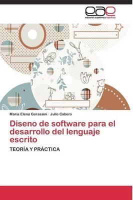 Diseno de software para el desarrollo del lenguaje escrito
