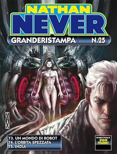 Nathan Never Granderistampa n. 25