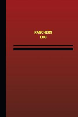 Ranchers Red Cover, Medium Logbook