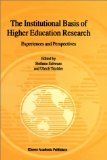 The Institutional Basis of Higher Education Research