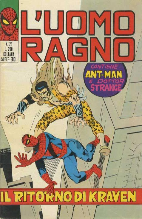 L'Uomo Ragno n. 28