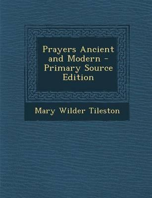 Prayers Ancient and ...