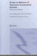 Essays on balance of payments constrained growth