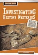 Investigating histor...