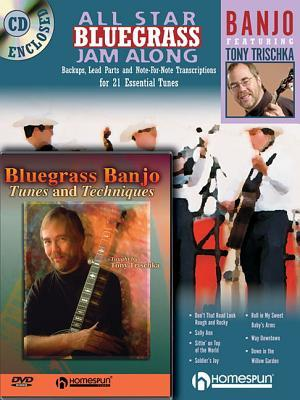 All Star Bluegrass Jam Along + Bluegrass Banjo Tunes and Techniques