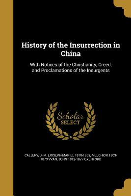 HIST OF THE INSURRECTION IN CH