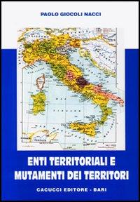 Enti territoriali e mutamenti dei territori
