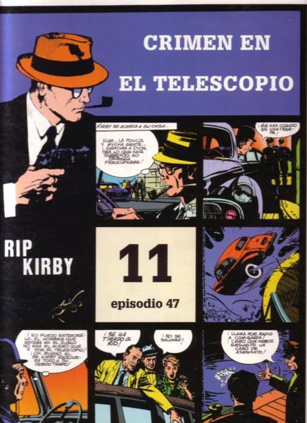 Rip Kirby #47: Crimen en el telescopio