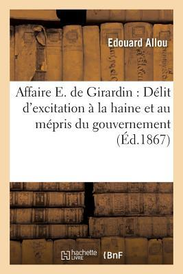Affaire E. de Girardin