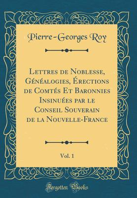Lettres de Noblesse,...