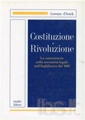 Costituzione e rivoluzione