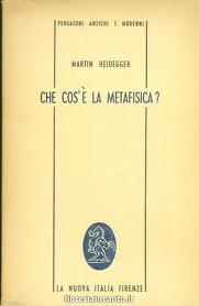 Che cos'è la metafisica?