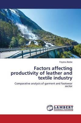 Factors affecting productivity of leather and textile industry
