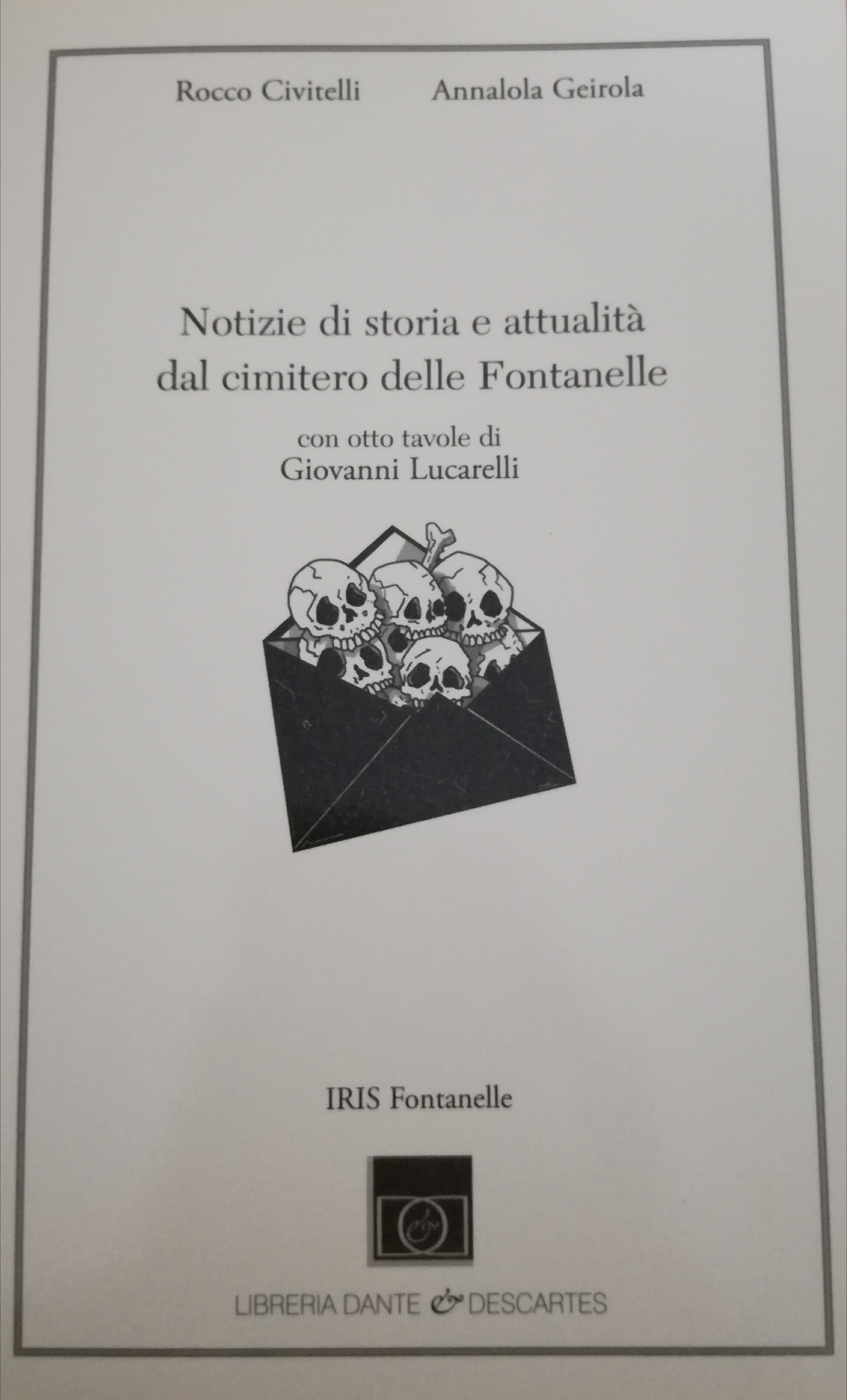 Notizie di storia e attualità dal cimitero delle Fontanelle