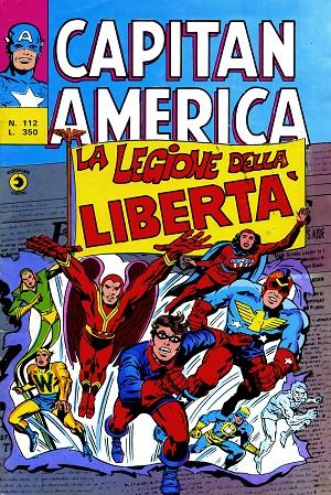 Capitan America n. 112