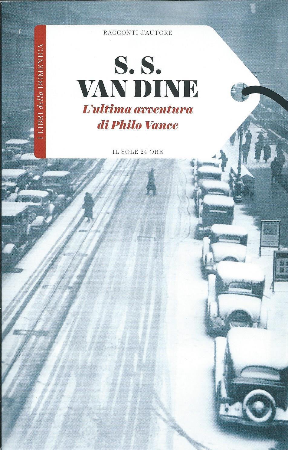 L'ultima avventura di Philo Vance