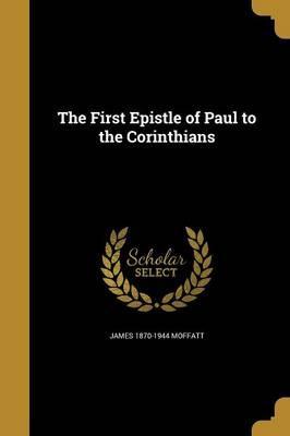 1ST EPISTLE OF PAUL ...